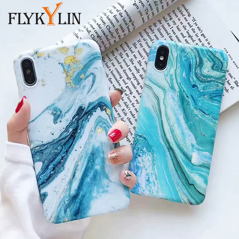 FLYKYLIN Marble Flower Phone Shell For Samsung Galaxy A40 A50 A70 A51 A71 Back Cover 3