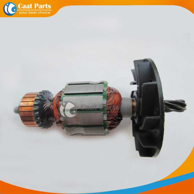 цены  Free shipping!  AC 220V 6-Teeth Drive Shaft Electric Hammer Armature Rotor for Hitachi VRV-16, High quality !