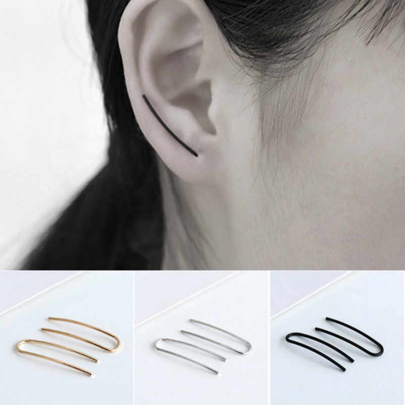European And American Foreign Trade Minimalist Style Custom Earrings Earpins U Aliexpress Explosion
