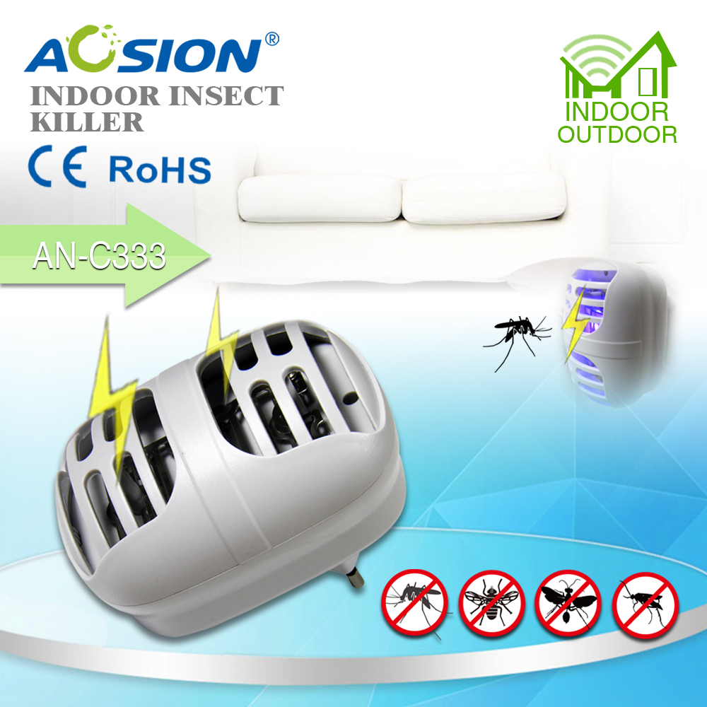 2x Aosion Electric Bug Zapper Fly Swatter Zap Wasp Mosquito Killer Is The Circuit Diagram Of An Ultrasonic Repellerthe Best For Baby Safe And Sweet Night Sleeping In Repellents From Home Garden On