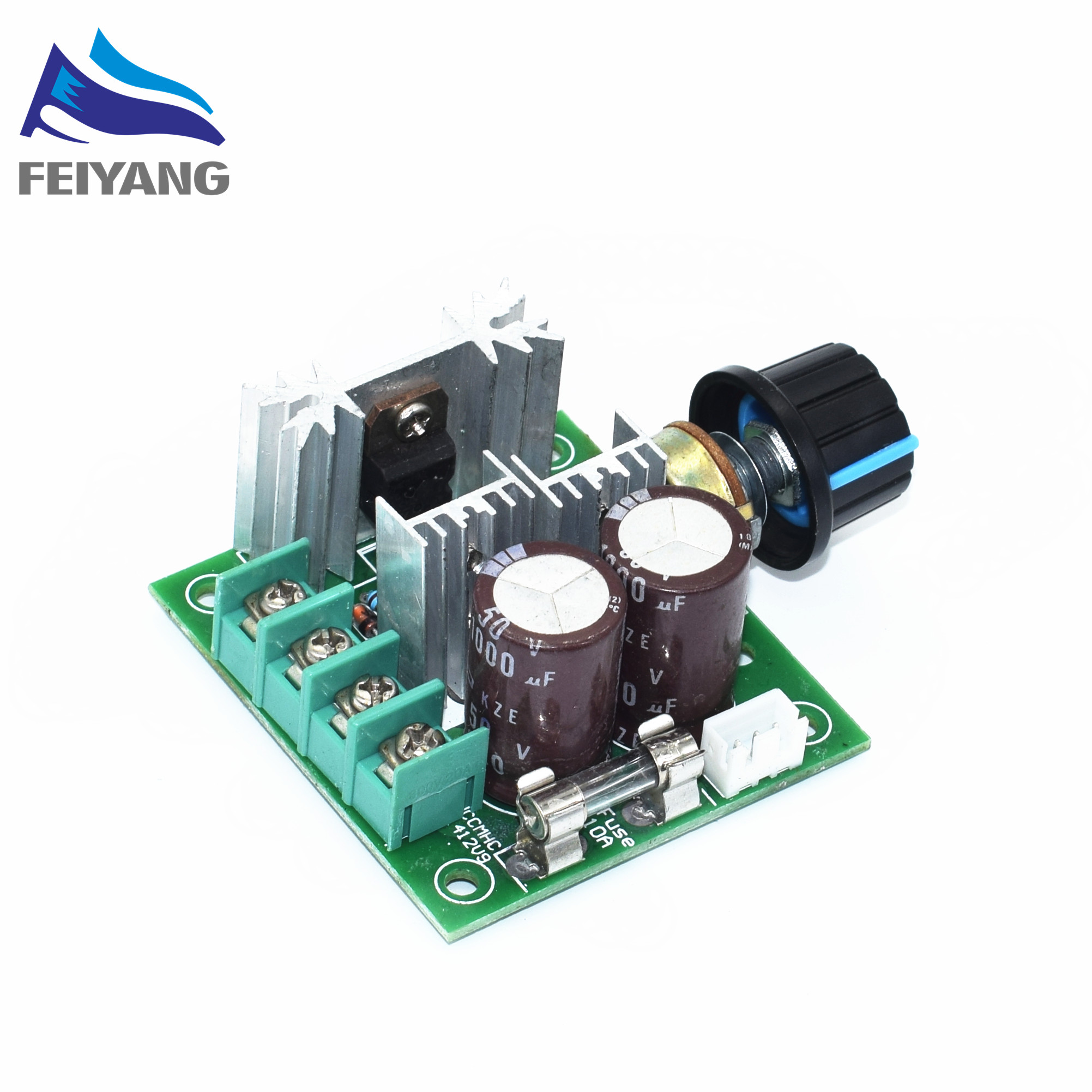 Electronic Components & Supplies Active Components 10a 12v-40v Pulse Modulation 13khz Pwm Dc Motor Adjuster Speed Control Switch Diy Kit Electronic Pcb Board Module Bright In Colour
