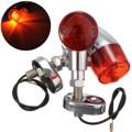 1 Pair Motorcycle Bullet Turn Signal Indicator Light Lamp For Harley Chopper Cruiser