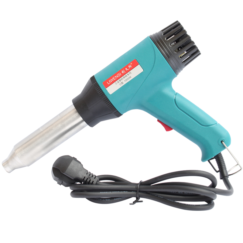 Hot air gun 1000w soldering station thermostat car bumper plastic welding gun PP plate welding plastic gun plastic welding rod
