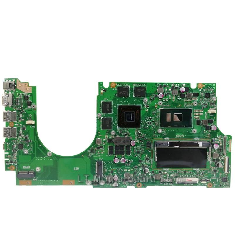 UX510UW Laptop motherboard I7-6500U GTX960/4G 8G/RAM for ASUS UX510 UX510UX UX510UXK UX510UWK Test mainboard UX510UW motherboard