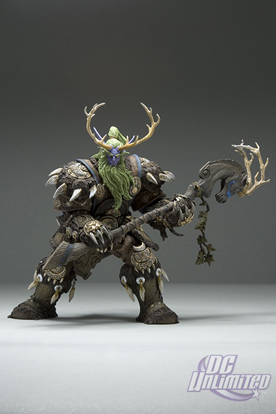 Hot Game WOW Druid of Claws PVC Classic Action Figure Toys For Boys Gifts Free Shipping GS088 voyager class power of the prim terrorcons hun gurrr action figure classic toys for boys without retail box