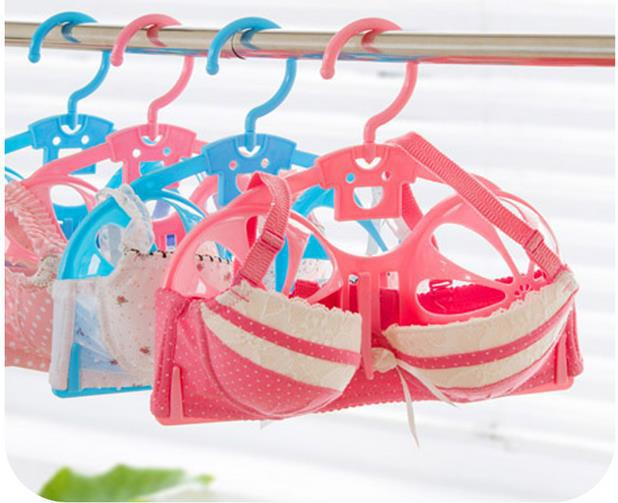 Anti-deformation Bra Drying Rack Creative Laundry Products Dry and Wet Underwear Drying Racks 2 Pieces/Lot Lingerie Hangers ...