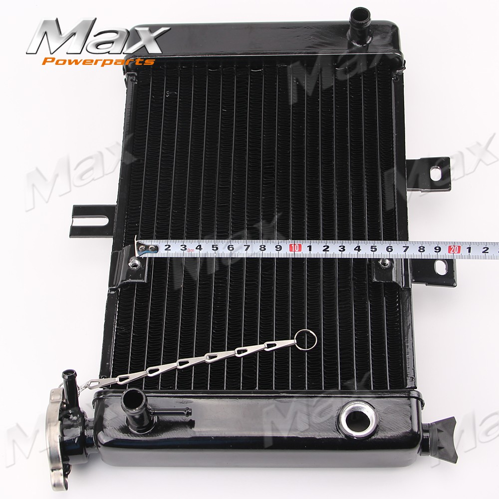 US $69 0 |Motorcycle Big Radiators Cooling System for 200cc 250cc Water  Cooled Water Cooling ATV Dirt Bike & Go Kart-in Engine Cooling &  Accessories