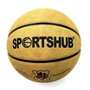 Image 3 - SPORTSHUB Size7 Echtem Leder Indoor & Outdoor Anti slip Sport Basketball Ball Anti reibung Basketball 2 Farben BGS0001