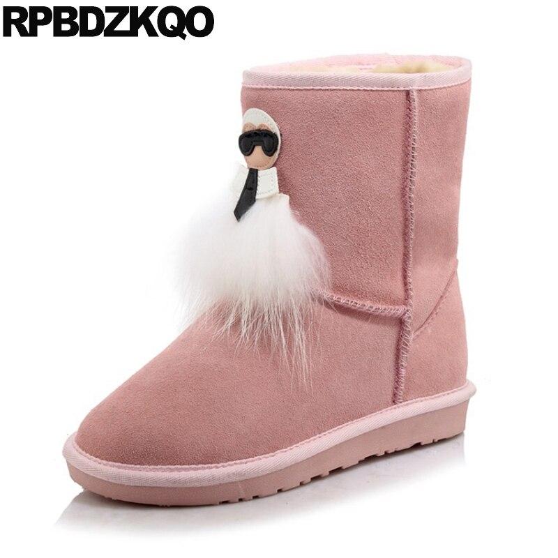 Kawaii Plus Size Big Brand Short Winter font b Snow b font font b Boots b