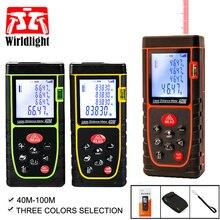 Telémetro digital Trena Telémetro Láser láser medidor de distancia 40M 60M 80M 100M medidor láser ruleta herramienta de prueba