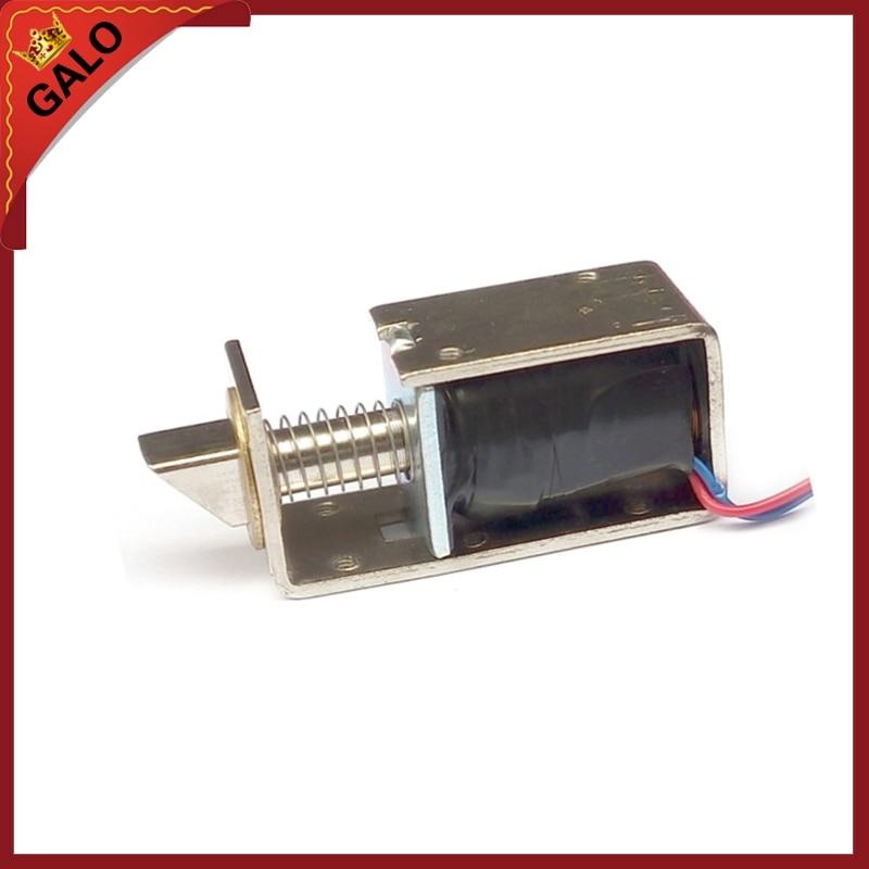 galo DC12V / 24V Small Electronic Locks Drawer Electric Bolt door Lock galo dc24v ac220v ac110v electrical