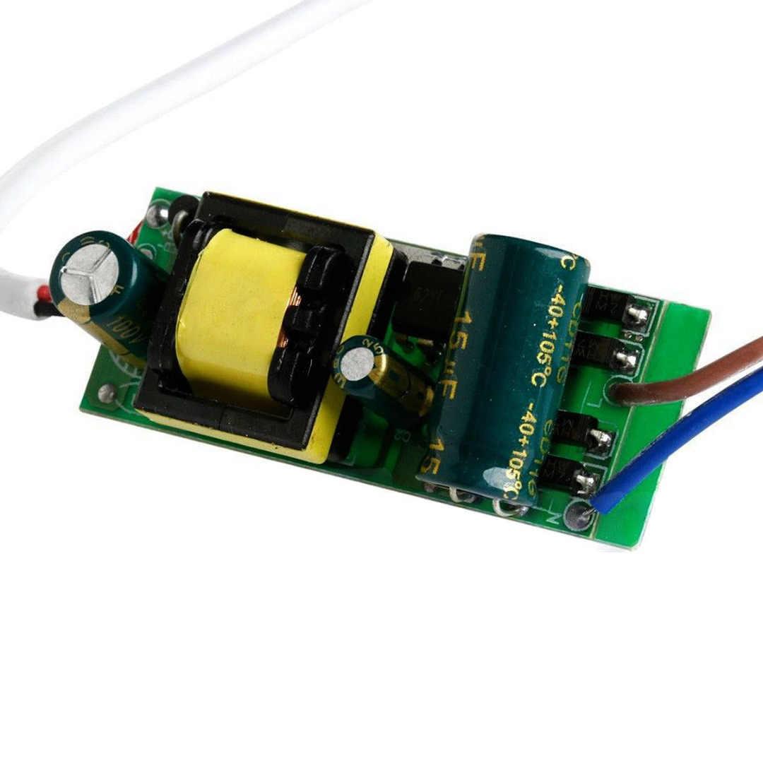 3 Вт-25 Вт пластиковый корпус постоянного тока 300мА светодиодный адаптер питания драйвера для светодиодный лампы AC85-265V