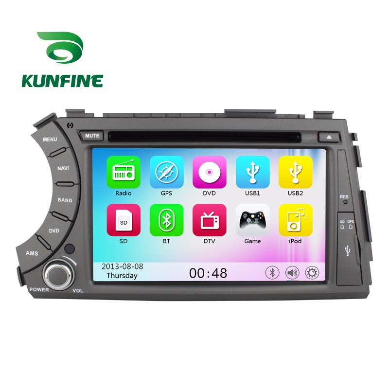 Car Stereo DVD Player GPS Navigation for SsangYong Kyron Actyon (2006-2012)  Radio 1
