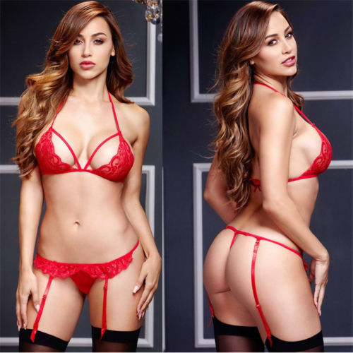 Hirigin 2017 Women Sexy Lingerie Underwear Clairvoyant Bandage Nightwear Enjoy Wonderful Night For Lover Lingerie Sets Hot New