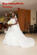 Maphia New Arrival Romantic Organza Tulle Lace Beading Vestido de noiva Meimaid Wedding Dress 2017 Bridal Gown Custom Made Size