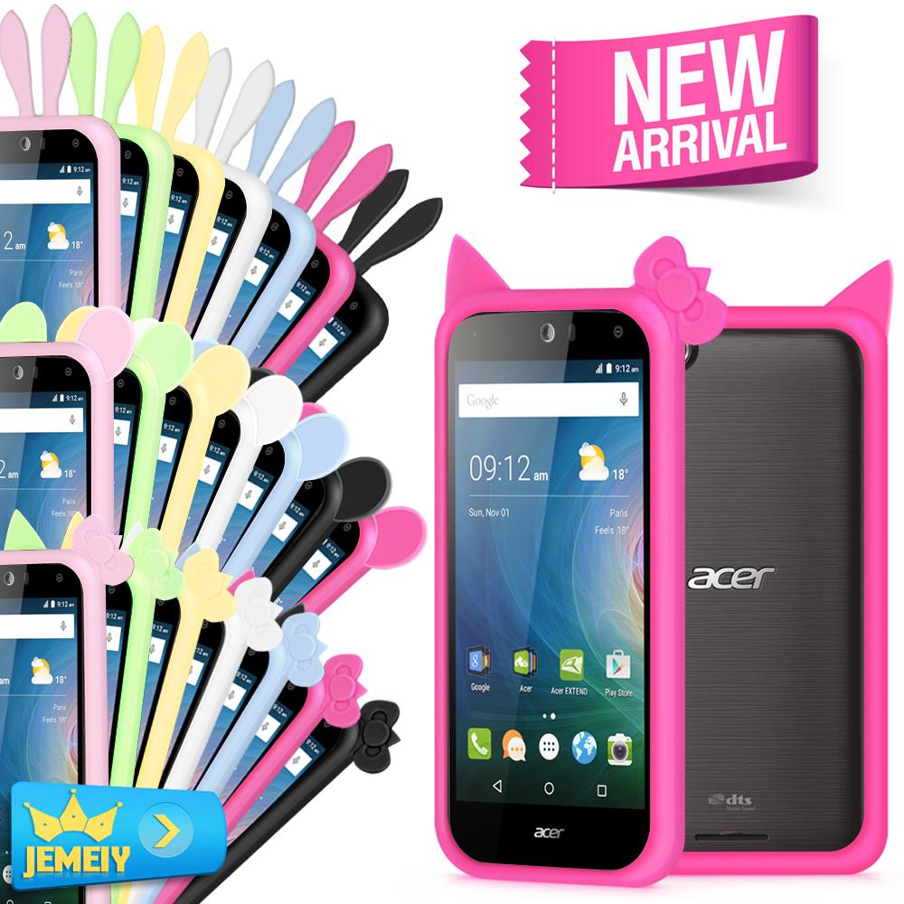 Universal Bumper For <font><b>Acer</b></font> <font><b>Liquid</b></font> <font><b>Z520</b></font> / Z630 / E700 / Z530 /Z500 <font><b>Case</b></font> Silicone Frame Luminous Ring Cover <font><b>Phone</b></font> <font><b>Cases</b></font> Large Size