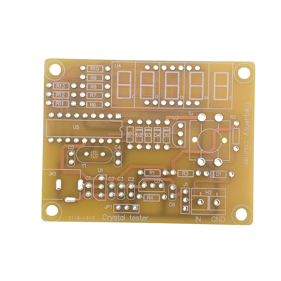 Crystaltester Circuit Is An Electronic Oscillator That Uses The Thermometer Page 3 Meter Counter Circuits Nextgr Diy Kits 1hz 50mhz Crystal Frequency Digital Led Tester Mini Case