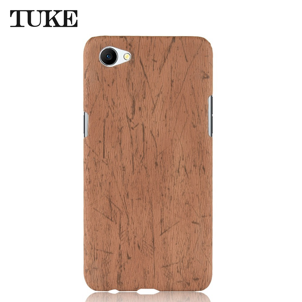 Wood Grain <font><b>Phone</b></font> <font><b>Cases</b></font> For <font><b>OPPO</b></font> <font><b>A71</b></font> Cover Wooden Pattern Hard PC Plastic For <font><b>OPPO</b></font> <font><b>A71</b></font> A 71 Housing Etui image