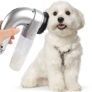 Pet Hair Vacuum Removal Fur Suction Grooming Device Dog Accessories