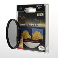 Kenko Smart by Tokina 82mm circular polairising filter CPL circ pol plc For canon 85 1.2 35 1.4nikon24 85 16 80 Free Shipping