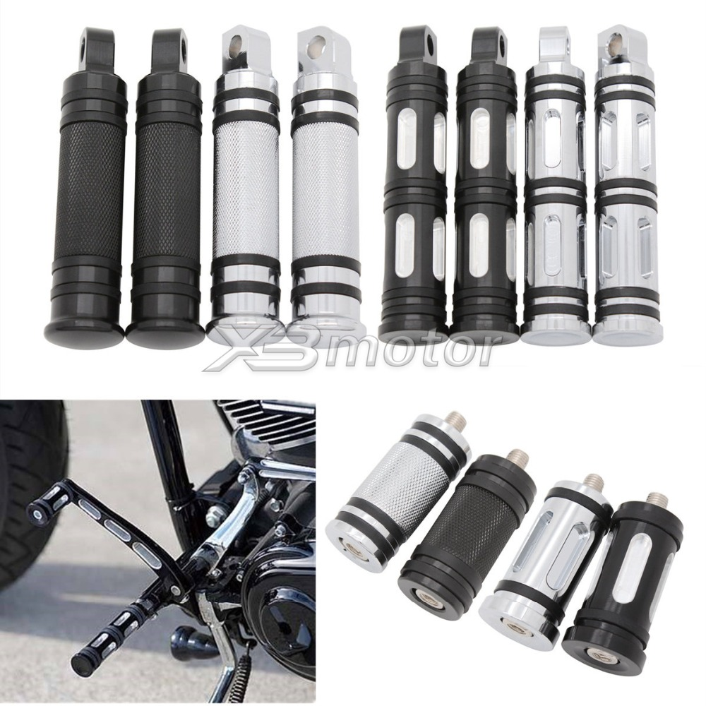 Motorcycle CNC Aluminum Foot Pegs Footrests Shifter Peg For Harley Sportster Iron XL 883 1200 883R 883C 883L Street XG 750 500
