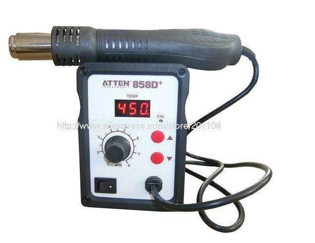 120# ATTEN AT 858D SMD Hot Air Rework Station Hot Blower Hot Air Gun Heat Gun термофен 858d smd
