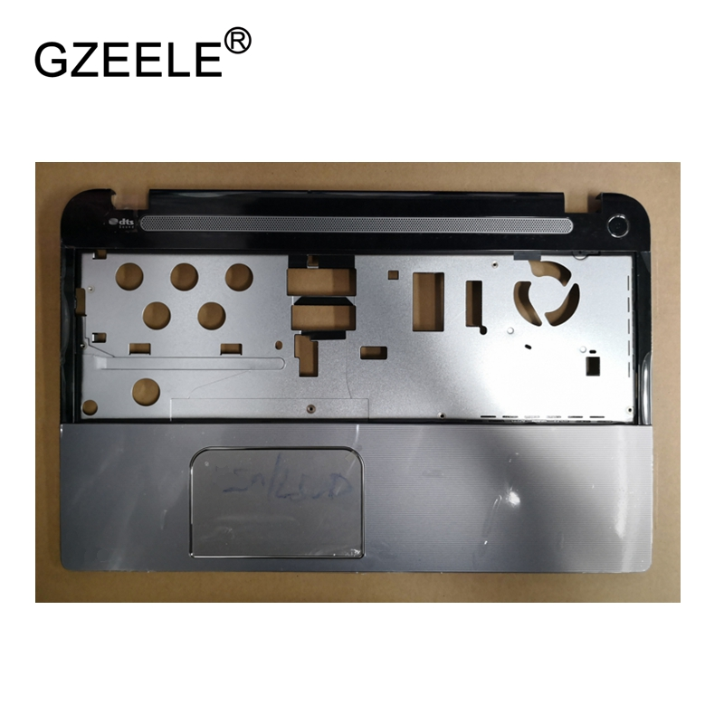 GZEELE New Laptop LCD TOP CASE For Toshiba Satellite L50T L55T L50T-A Palmrest Keyboard Bezel Cover Upper Case Assembly Touchpad brand new laptop for dell inspiron 15 15r 5521 5537 3537 3521 lcd back cover upper cover bezel case palmrest cover bottom case