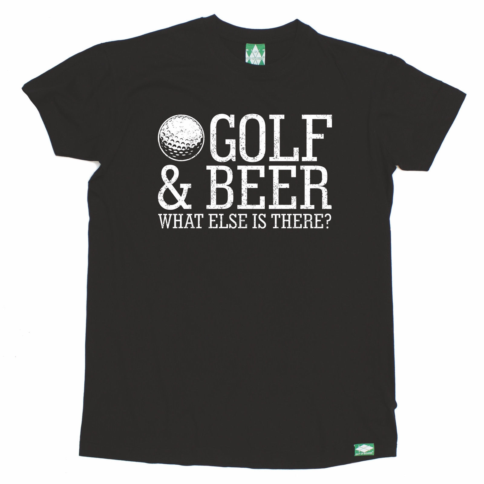 Golfer & Beer What Else Is There T-SHIRT Golfer Golfing Funny Birthday Gift 123t Short Sleeve Tshirt Cotton T Shirts
