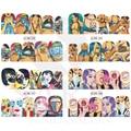 1 Hoja de Sexy Lady Patrones Diseños de Calcomanías de Agua Pegatinas Para Regulador de Color de Uñas Decoración Del Arte Del Clavo de la Cubierta Completa de Consejos BN385-396