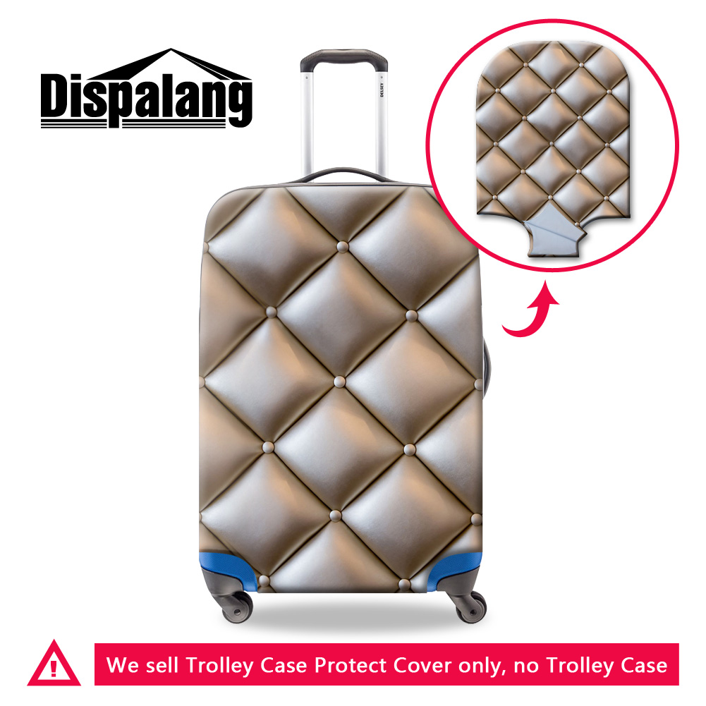 Dispalang Lucky Number Print Luggage Cover Cool Suitcase Protector Cover Patterns Travel Accessories