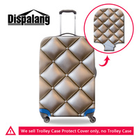 Dispalang 3D Printing Customized Design Travel Accessories For 18 30 Inch Trolley Suitcase Girl Elastic Anti