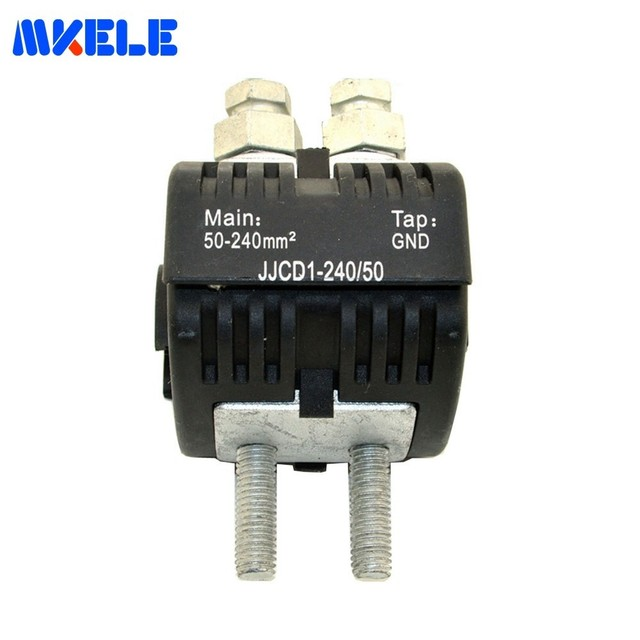 Insulation Piercing Connector Waterproof Electric Cable  Earthing Clamps 1 KV Crimp Connectors For ABC Cable MK-IPCJJCD1-240/50