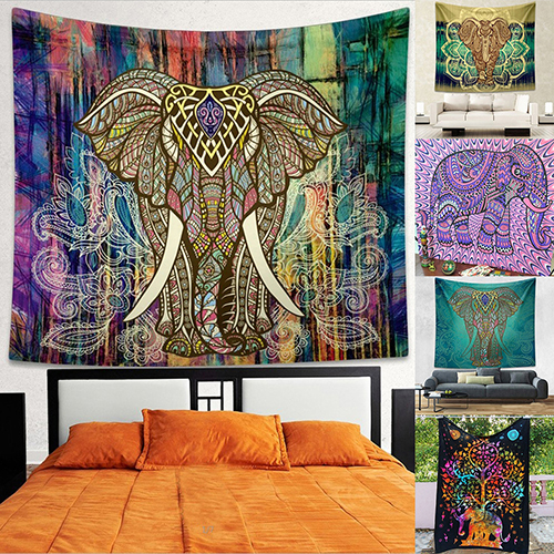 Indian Mandala Tapestry Hippie Wall Hanging Bohemian Bedspread Throw Dorm Decor Store 207