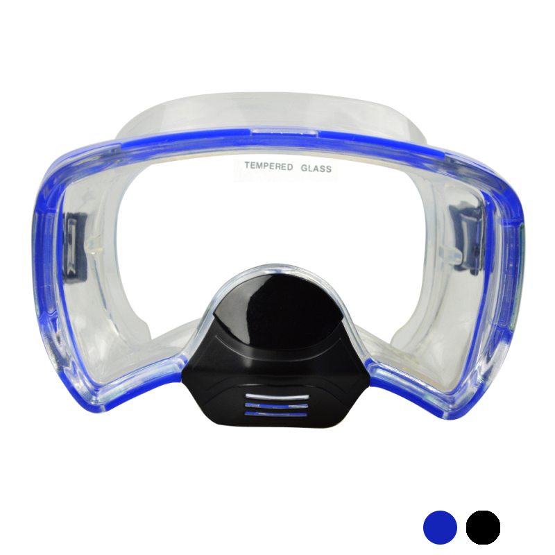 Layatone Snorkel Diving Mask Spearfishing Undervands Svømning Freediving Surfing Mask Silicone PC Diving Mask M-272