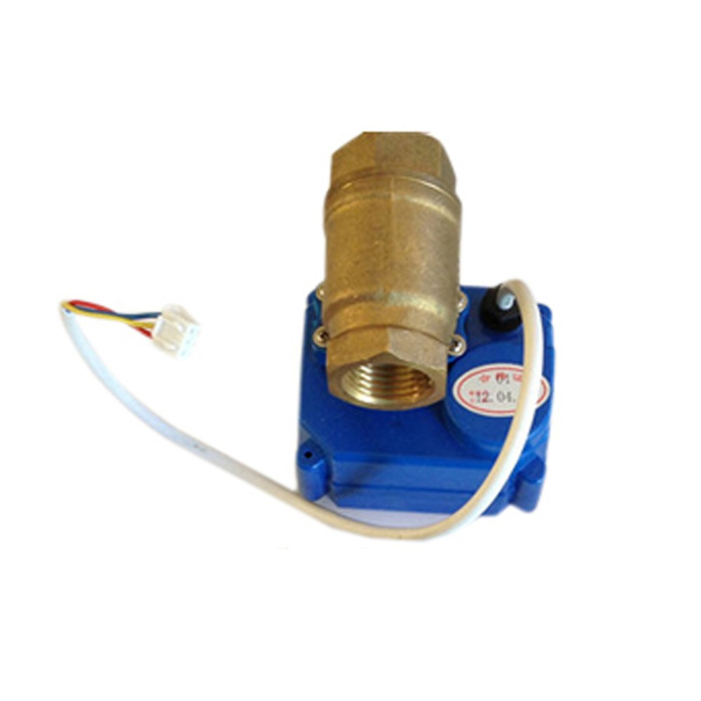 <font><b>WLD</b></font>-<font><b>806</b></font> (DN15*1pcs) Valve 3Pin Electric Automatic Solid BSP NPT Brass Motorized Ball Valve with BSP thread image