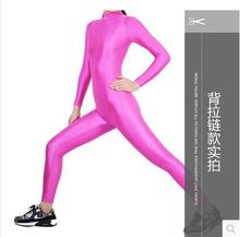 (LG008) Unisex Lycra Spandex Tights Solid Color Opaque Zentai Legging Fetish Wear Customize Size