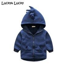 Nouveau casaco infantil dinosaure bébé manteau à capuchon bébé veste printemps et automne bébé vêtements