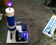 Plasma Speaker Arc loudspeaker music tesla coil amazing flashing Generator high voltage Teaching experiment