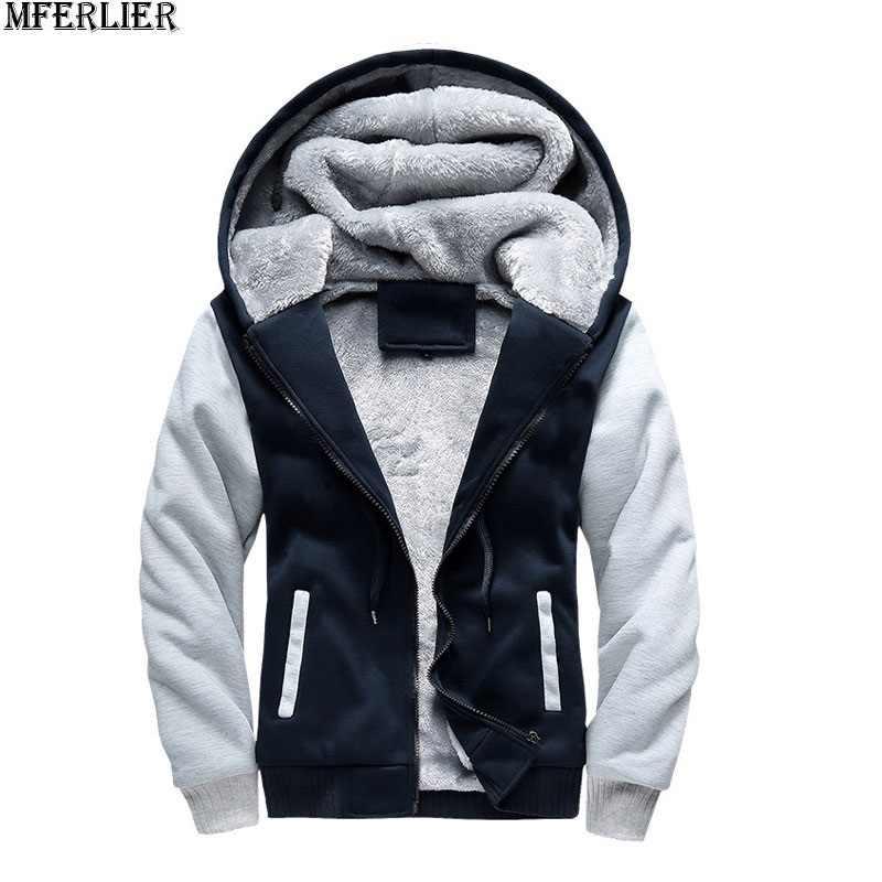 Большие размеры большие мужские куртки Толстовка с капюшоном толстые теплые флисовые парки 7XL 8XL 9XL 10XL зимние черные Лоскутные Пальто