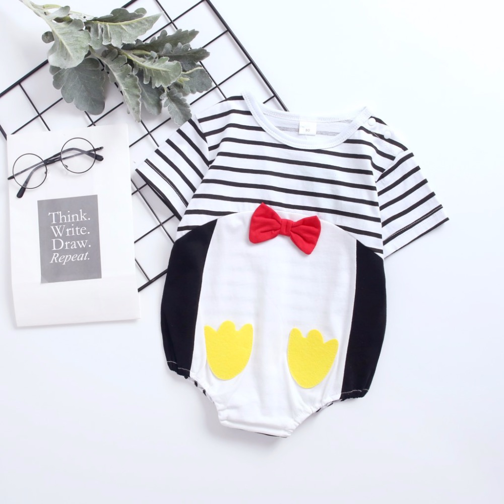 Newborn Baby Magical Rabbit Short Sleeve Romper Onesie Bodysuit Jumpsuit