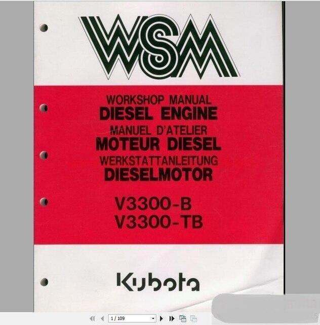kubota full set workshop manual dvd in software from automobiles rh aliexpress com workshop manual download workshop manual volkswagen transporter