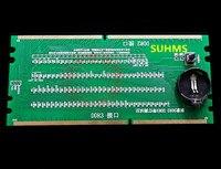 100 New Original Desktop DDR2 DDR3 Memory RAM Slot Tester With LED DDR2 DDR3 Slot Tester
