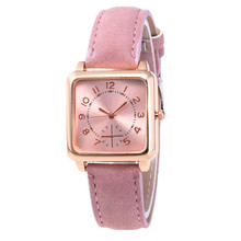 Women Watches 2019 Luxury Brand Square Dial Quartz Watch Women Fashion Casual Leather Wrist Watch Female Clock Relogio Feminino zivok fashion brand women bracelet watch red long leather lovers quartz wrist watches clock relogio feminino women s watches