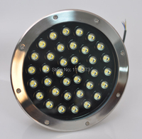 Free Shipping 36x1W LED round underground lamps Buried lighting LED project lamps LED outdoor lamps AC85~265V IP67 2pcs/lot