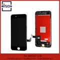 100% súper calidad de trabajo de color negro para la pantalla iphone 7 pantalla lcd con pantalla táctil digitalizador reemplazo asamblea