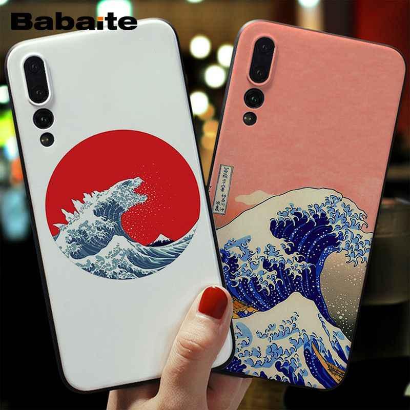 Babaite Hokusai The Great Wave Off Kanagawa Tpu Soft Silicone Phone Case Cover For Huawei P10 Plus Mate20 P20 Lite Nova 3e P20