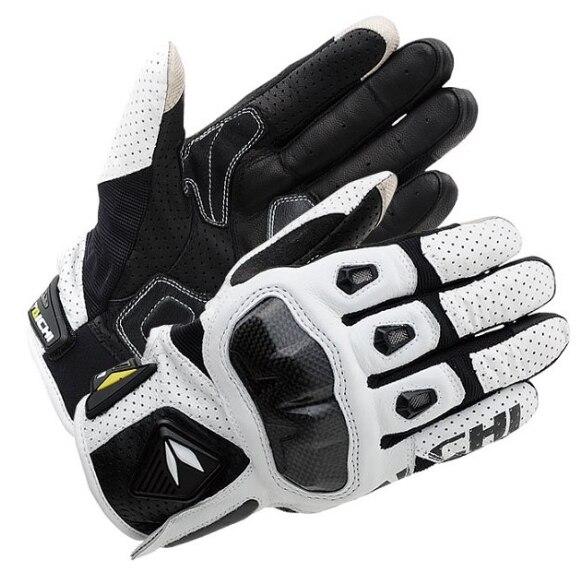 Perforato in pelle traspirante RST410 guanti Moto guanti di protezione MOTO GP guanti