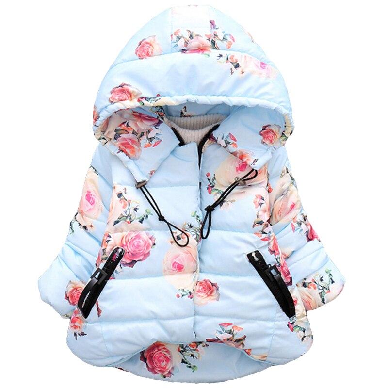 2018 Warme Winter Herbst Baby Mädchen Kleidung Mantel Mädchen Jacke Für Mädchen Kinder Kleidung Oberbekleidung Hoodies Kinder Kleidung 4 Jahre