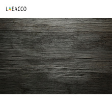 Laeacco Dark Wooden Board Planks Grunge Portrait Pet Photography Backgrounds Customized Photographic Backdrops For Photo Studio