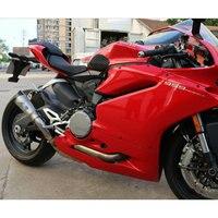 Mokali сплав титана утечки углерода выхлопной moto rcycle для Ducati 959 escapes для Ducati выхлопная труба мото глушитель с средней трубкой